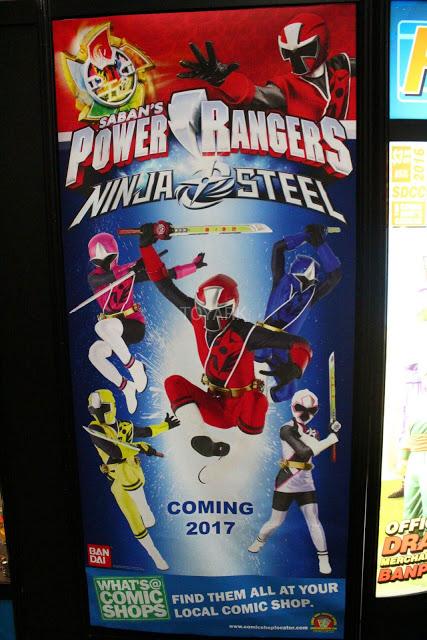 SDCC PR Ninja Steel Poster