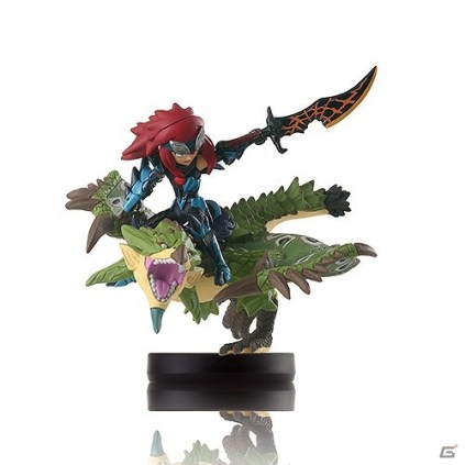 Monster Hunter Stories Cheval with Rathian Amiibo