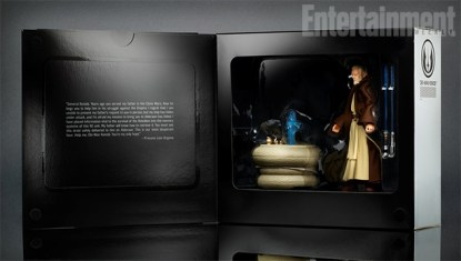 SDCC 2016 Ben Kenobi 6 Inch Box