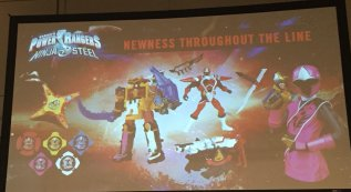 PMC 2016 Power Rangers Ninja Steel Toy Panel