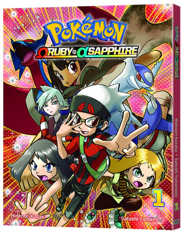 Pokemon Omega Ruby Alpha Sapphire Manga