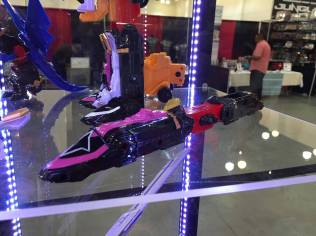 Power Morphicon 2016 Power Rangers Ninja Steel Shurikenjin Train