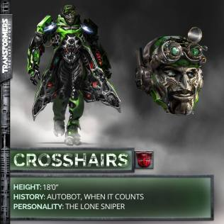 Transformers 5 The Last Knight Crosshairs