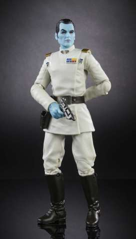 SWCO 2017 Star Wars 6 Inch Black Series Grand Admiral Thrawn