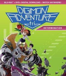 Digimon Adventure Tri Part 2 Determination DVD