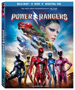 Lionsgate Power Rangers Blu-Ray