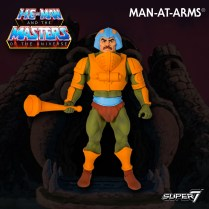 Super 7 Masters of the Universe Classics Club Grayskull Man-at-Arms