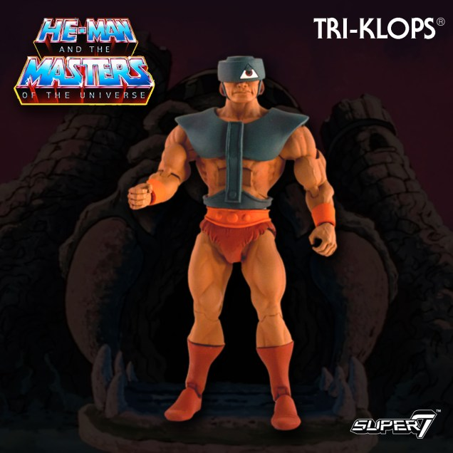 Super 7 Masters of the Universe Classics Club Grayskull Tri-Klops