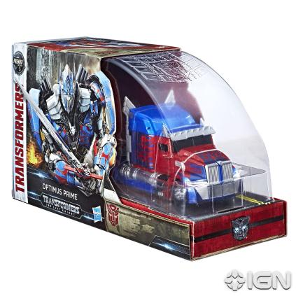 SDCC 2017 Transformers The Last Knight Voyager Class Optimus Prime Box