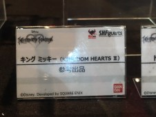 Tokyo Toy Show S.H.Figuarts Kingdom Hearts King Mickey Details