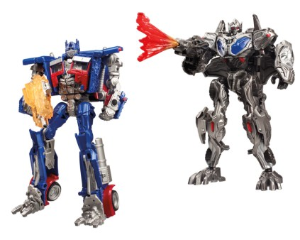 Transformers The Last Knight Optimus Prime Two Pack Robot