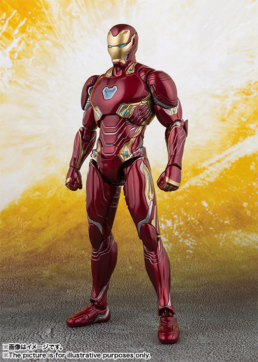 Official Images S H Figuarts Iron Man Mark 50 Hero Club