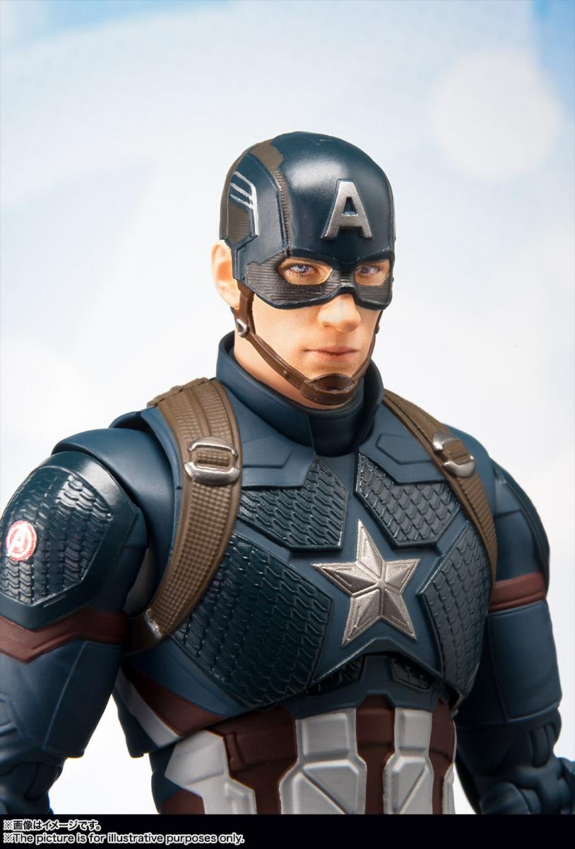 Uitgelezene S.H.Figuarts Avengers Endgame Captain America 7 – Hero Club NV-01