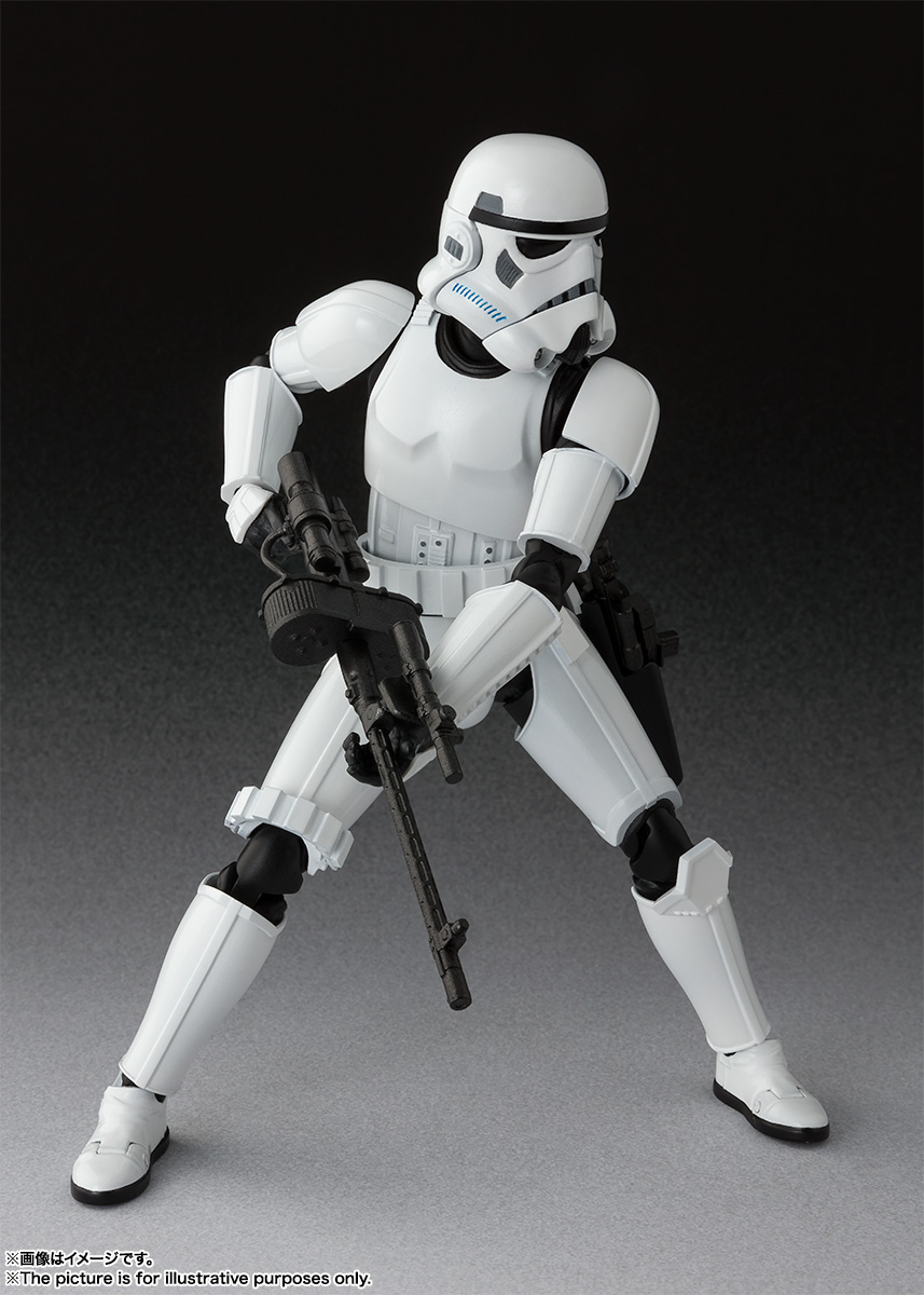 S H Figuarts Stormtrooper Star Wars Episode Iv A New Hope 3 Hero Club