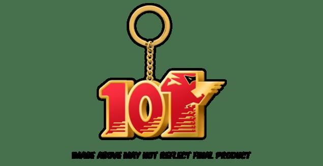 Wonderful 101 Remastered Kickstarter Keychain