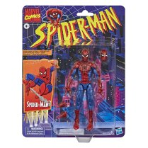 Marvel Legends Retro Spiderman Card