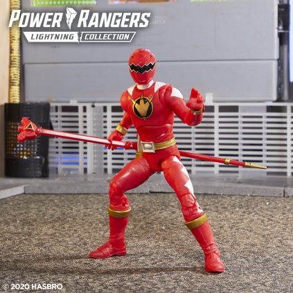 Power Rangers Lightning Collection Dino Thunder Red