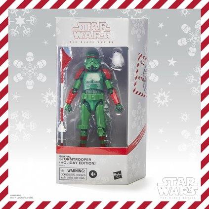 Star Wars Black Series Holiday Edition Stormtrooper Box