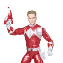 Hasbro Pulse Power Rangers Lightning Collection Metallic Red Ranger
