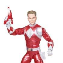 Hasbro Pulse Power Rangers Lightning Collection Metallic Red Ranger