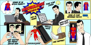 HeroBuilders Custom Action Figure ordering Instructions