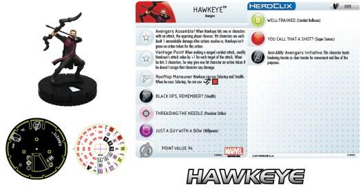 Marvel HeroClix: Age of Ultron Hawkeye