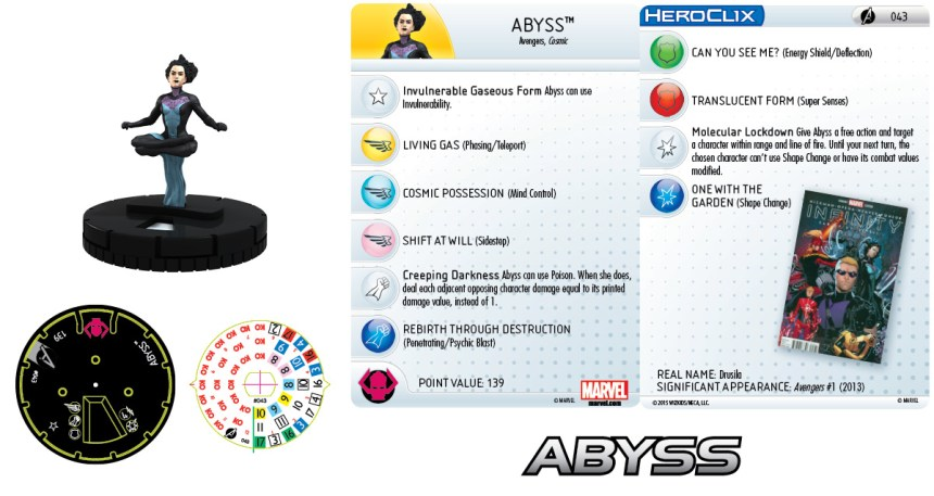 Marvel HeroClix: Avengers Assemble- Abyss