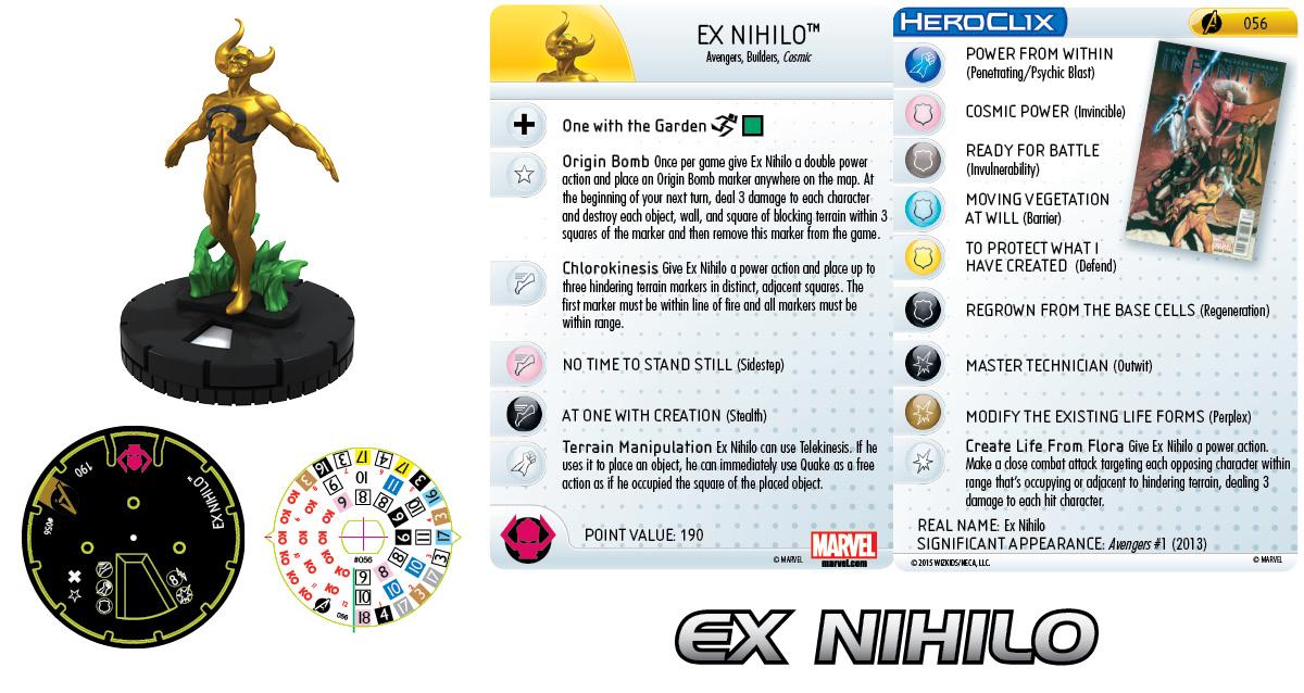 Marvel HeroClix: Avengers Assemble- Ex Nihilo