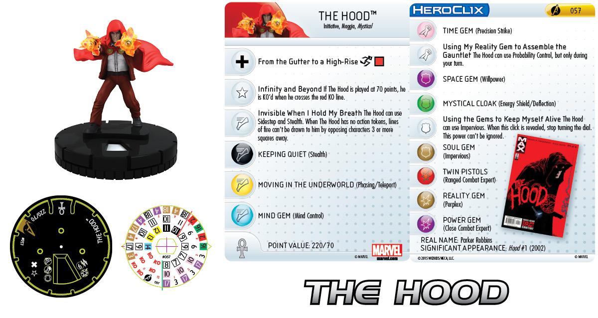 Marvel HeroClix: Avengers Assemble- The Hood