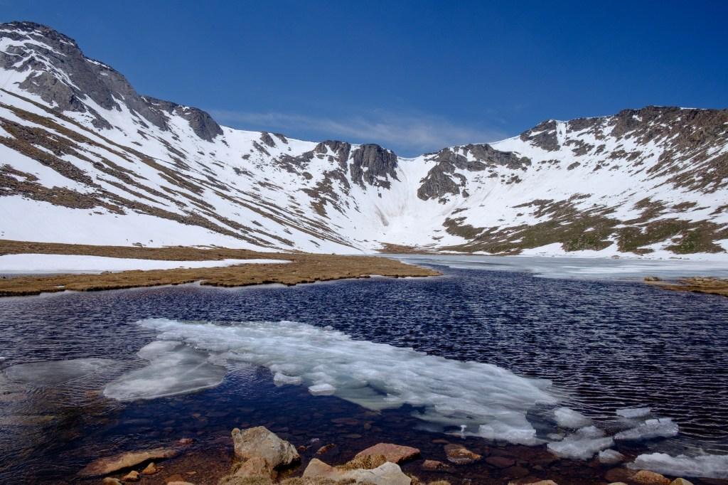 Thawing Summit Lake