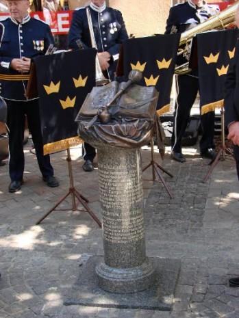 Пам'ятник Орлику в Крістіанстаді