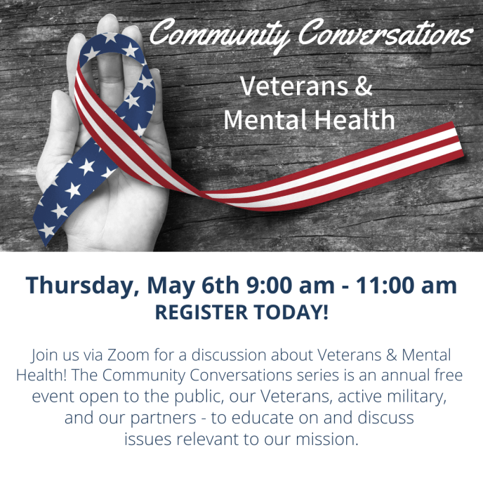 Community Conversations Veterans and Mental Health