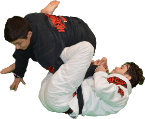 Two men Training Brazilian Jiu Jitsu Heroes Martial Arts San Jose