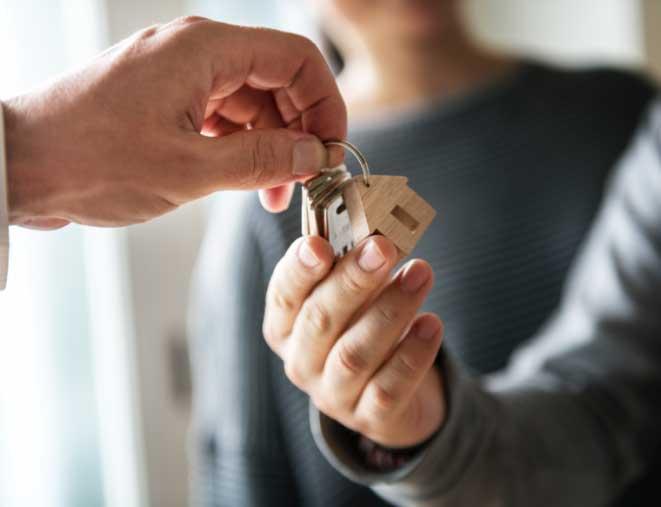 Keys to new home from Hero program