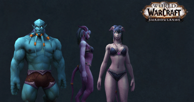 Shadowlands Alpha – Neue Customization für Draenei