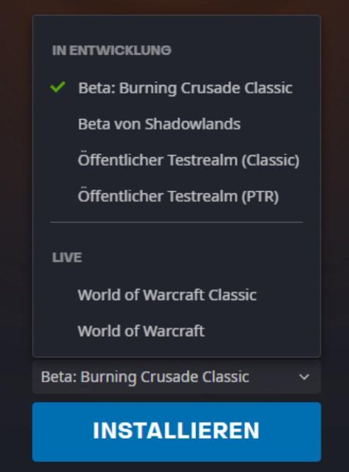 Burning Crusade Classic Beta