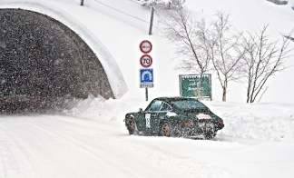 "Photos of Winter Challenge Rally to Montecarlo 2014 (23-28/02/2014) All rights reserved. Editorial use only for press kit about Winter Challenge 2014. Any further use is forbidden without previous Author's consent. Author's credit ""©Photo F&R Rastrelli"" is mandatory"
