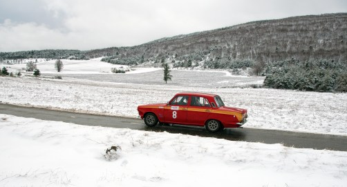 """Photos of Winter Challenge Rally to Montecarlo 2014 (23-28/02/2014) All rights reserved. Editorial use only for press kit about Winter Challenge 2014. Any further use is forbidden without previous Author's consent. Author's credit """"©Photo F&R Rastrelli"""" is mandatory"""