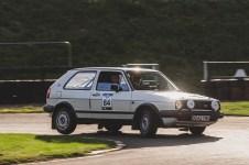 "Hero Challenge 3 2021, Bicester to Banbury. ""84 Paul Bloxidge + Oli Waldock , VW Golf GTi MkII, 1985"""