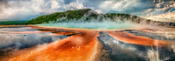 Prismatic Spring at Yellowstone National Park