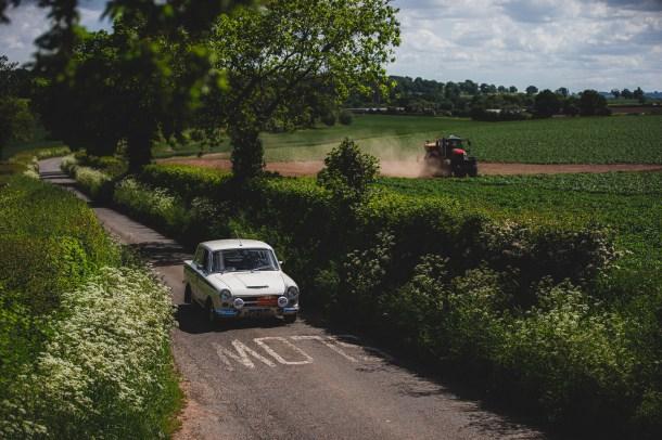 HERO-ERA Summer Trial 2021 9, Chris Howell + Jon Briggs, Ford Lotus Cortina MkI