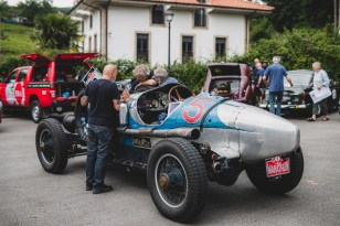 """HERO-ERA Classic Marathon 2021. """"3 Christian Mueller + Roger Vogel , Cadillac Series 314 V8 Racer"""" The event that started the classic rallying scene back in 1988, travels through Northern Spain and Portugal in its latest incarnation."""