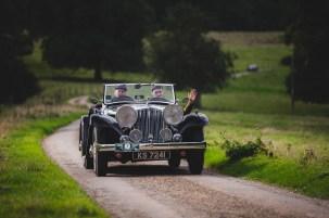 "Hero Challenge 3 2021, Bicester to Banbury. ""7 Mike Farrall + Zach Burns , Jaguar Tourer, 1936"""