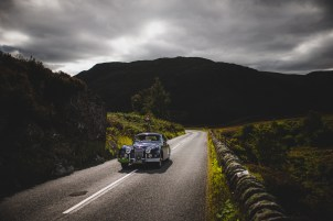 "Scottish Malts 2021, ""9 Richard Rea + Charles Rea , Jaguar XK150 FHC"", Day 1 Dalmahoy Hotel & Country Club, Edinburgh, to Atholl Palace Hotel, Pitlochry."