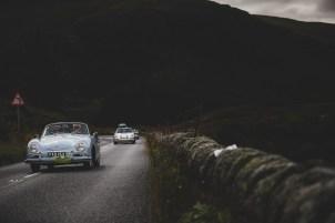 "Scottish Malts 2021, ""10 Roger Osborne + Barbara Osborne , Porsche 356A Cabriolet"", Day 1 Dalmahoy Hotel & Country Club, Edinburgh, to Atholl Palace Hotel, Pitlochry."