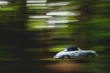"Scottish Malts 2021,""10 Roger Osborne + Barbara Osborne , Porsche 356A Cabriolet"" , day 2, Atholl Palace Hotel, Pitlochry to Kingsmills Hotel, Inverness."