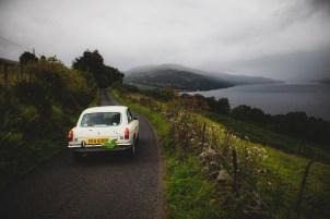 "Scottish Malts 2021, ""42 Doug Carmichael + John Gearing , MG B GT V8"", day 5, Crieff Hydro Hotel, Crieff to Dalmahoy Hotel and Country Club, Edinburgh."