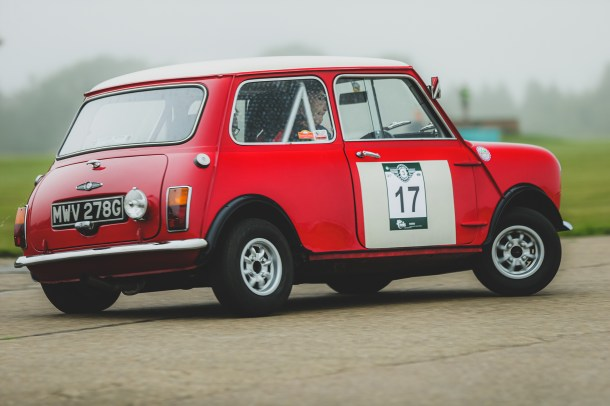 """Hero Challenge 3 2021, Bicester to Banbury. """"17 Jon Armstrong + Phil Hall , Mini Cooper (A&D), 1968"""""""