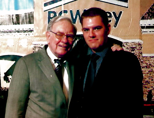 Warren Buffett and Cody McKibben