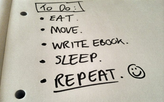 My daily to-do list din't change much over the past few months.